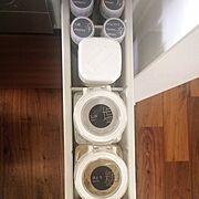 整理整頓/キッチン収納/収納/引き出しの中/調味料収納/mon・o・tone…などのインテリア実例