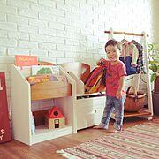 子供部屋/キッズルーム/こども/キッズスペース/こどもと暮らし/こどくら…などのインテリア実例