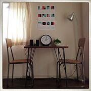 nico and.../植物/時計/Lounge…などのインテリア実例