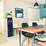 新築/IKEA/ニトリ/子供と暮らす/建売住宅/観葉植物…などのインテリア実例