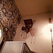 壁紙DIY/DIY/JUNK/カフェ風/熊本/いいね&フォローありがとうございます♪…などのインテリア実例