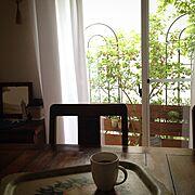 RC湘南LOVE♡/しゃれとんしゃあ会/NO GREEN NO LIFE/窓からの眺め…などのインテリア実例