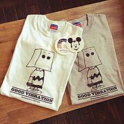 ステッカー/Tシャツ…などのインテリア実例