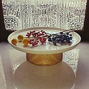 マリメッコ/プラッター/ガラスフィルム/目隠しシート/うつわ /食器好き…などのインテリア実例