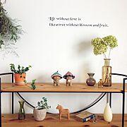 壁紙屋本舗/バターミルクペイント/フェイクグリーン/DIYTILE/窓枠DIY…などに関連する他の写真