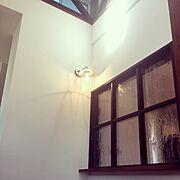 玄関/室内窓/松本船舶/吹き抜け/Entrance…などのインテリア実例