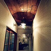 アンティーク/雑貨/照明/DIY/On Walls…などのインテリア実例