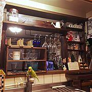 My Shelf/クリスマス/ダイソー/改造中/雑貨/まだまだリメイク中…などのインテリア実例