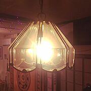 カフェ風/リメイク/電球/ランプ照明/ランプ/照明…などのインテリア実例