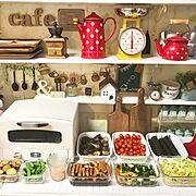 キャニスター/WECK/100均/キッチン背面棚/IKEA/リクシル…などに関連する他の写真