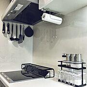 KEYUCA/IH周辺/IHクッキングヒーター/IH/IKEA/ニトリ…などのインテリア実例
