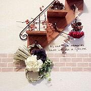 玄関/モノトーン/下駄箱の上/フライングタイガー/niko and… /IKEA…などに関連する他の写真