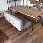 新居/マンションインテリア/IKEA/DIY/ダイニング/ダイニングテーブル…などのインテリア実例