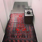 玄関マット/ペルシャ絨毯/Entrance…などのインテリア実例