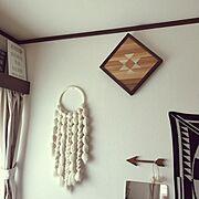 Dreamcatcher/weaving/wovenwallhanging/Pendleton…などのインテリア実例