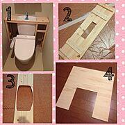 タンクレスDIYレシピ♪/タンクレス DIY/Bathroom…などのインテリア実例