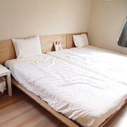 無印良品/シンプル/シンプルインテリア/Bedroom…などのインテリア実例