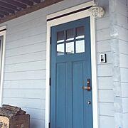 マリンランプ/BESSの家/カリフォルニアスタイル/G-log/Entrance…などのインテリア実例