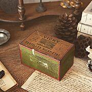 ブロカント/雑貨/フランス/アンティーク/ブロカンテ/アンティークティン缶…などのインテリア実例