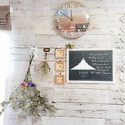 壁紙屋本舗/築35年団地/プレート/ウォールステッカー/Room Clip Style /セリアbox…などに関連する他の写真