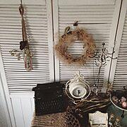 壁紙屋本舗/ig→handmade_capel/猫と暮らす/漆喰壁/無垢材…などのインテリア実例