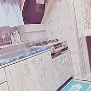 賃貸でも諦めない!/ビーチカフェスタイル★/団地でも諦めない!/団地で暮らす。/団地部…などのインテリア実例
