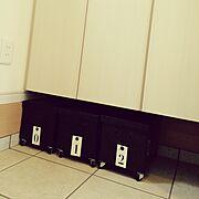 BOX/缶/D.I.Y./白黒シルバー/白黒/数字…などのインテリア実例