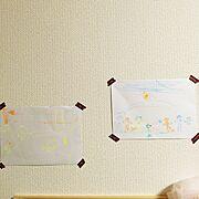 こどものお絵描き/おばバカです(笑)/甥っ子姪っ子LOVE(笑)/On Walls…などのインテリア実例