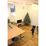 クリスマス/連投すみません/オーナメント/クリスマスツリー180cm/studioclip…などのインテリア実例