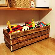 おもちゃ箱のインテリア実例写真