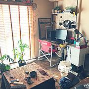 ぼろアパートのインテリア実例写真