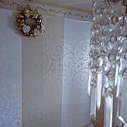 壁紙DIY/フォロー嬉しいです♡/いいね!ありがとうございます♪/みなさんの素敵なお部屋憧れます…などのインテリア実例