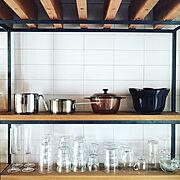 カフェ風/Kitchen…などのインテリア実例