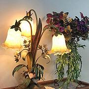 クリスマス/花のある暮らし/アンティーク風/イベント参加中/アンティーク雑貨/Kitchen…などのインテリア実例
