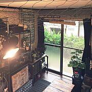 マーキュリー/蚊取り線香/イノシシから天井を守る…などのインテリア実例