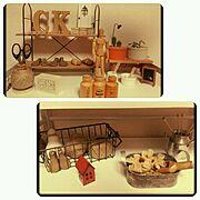 パンのブローチ/紫陽花風/雑貨/多肉植物/リメイク/ダイソー…などのインテリア実例