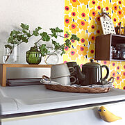 My Shelf/狭いキッチンを使いやすく/プロフからミンネ行けます♡/RCの出会いに感謝♡…などのインテリア実例