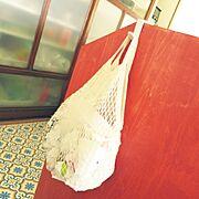Can☆Do/キャンドゥ/フロアシート/レジ袋収納/レジ袋ストッカー/Kitchen…などのインテリア実例
