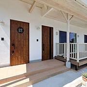 二世帯住宅のインテリア実例写真
