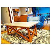My Desk/ソファー/観葉植物/フェニックスロベレニー/ロンハーマン/unico…などのインテリア実例