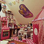 子ども部屋/おもちゃ/ディズニー/Overview…などのインテリア実例