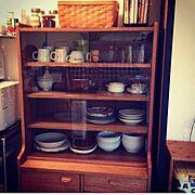 unico/収納/食器棚 /カップボード/Kitchen…などのインテリア実例