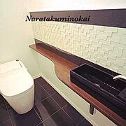Bathroom/おしゃれ/リフォーム/工務店/カスタマイズ/奈良…などのインテリア実例