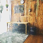 山善ペール缶収納スツールモニター応募/山善/ペール缶スツール/いいね♪いつもありがとうございます❤️/Instagram→yuh.0704…などのインテリア実例