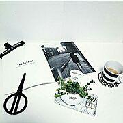 LAGERHAUS/H&M HOME/観葉植物/コーヒータイム♡/IKEA/北欧インテリア…などのインテリア実例