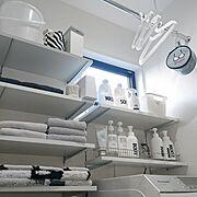 すっきりとした暮らし/100均/整理整頓/グレー好き♡/にとり/IKEA…などのインテリア実例