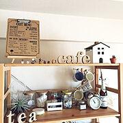 lovecatちゃんのガーランド♡/アクリルたわしをインテリアに/無印良品 壁に付けられる家具…などに関連する他の写真