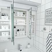 洗面所DIY/洗面台DIY/洗面台DIY/洗面台周り/洗面台下収納/洗面所…などに関連する他の写真