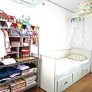 子ども部屋のインテリア実例写真