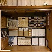 無印良品/かご/セリア/IKEA/整理収納部/Lounge…などのインテリア実例